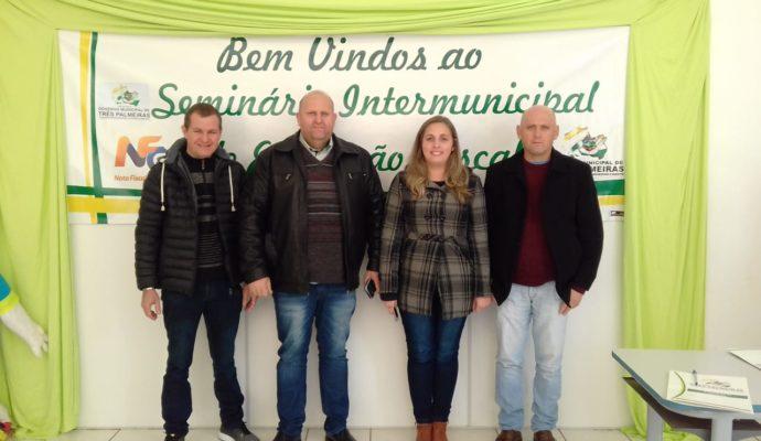 Servidores Públicos Municipais participam de Seminário de Educação Fiscal em Três Palmeiras/RS.