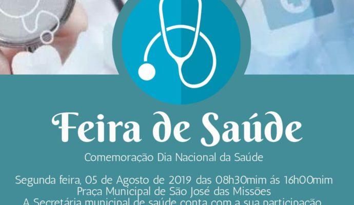 Convite: Feira de Saúde