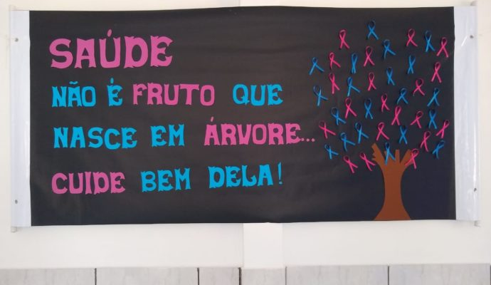 Realizada Palestra alusiva a Campanha Outubro Rosa e Novembro Azul.