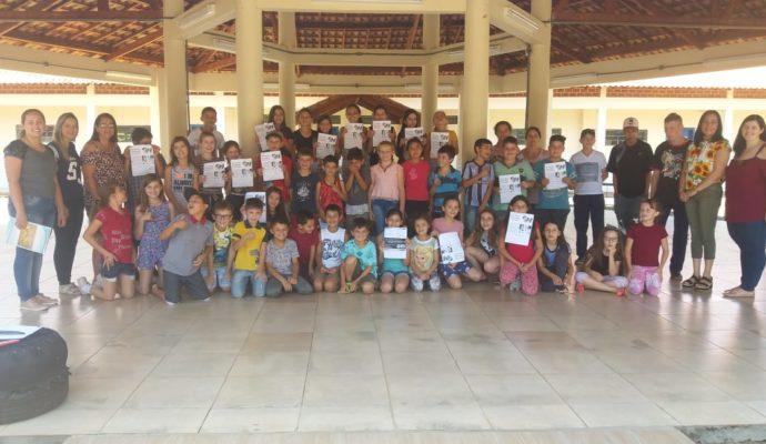 Projeto de Educação Fiscal e Nota Fiscal Gaúcha é realizado na Escola Municipal São José.