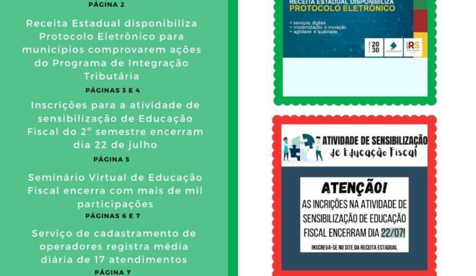 Informativo PIT – Programa de Integração Tributária Julho 2020.