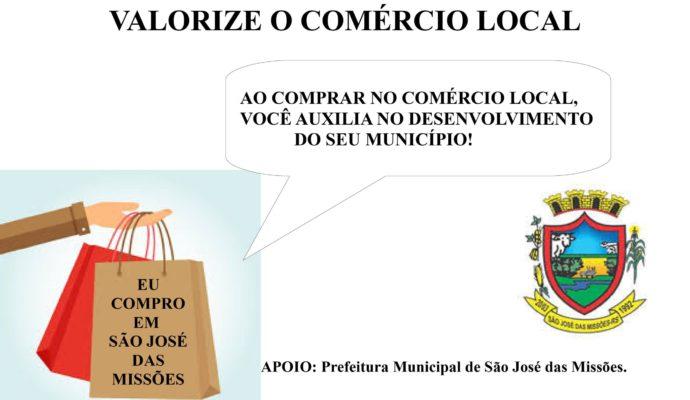 Valorize o Comércio Local.