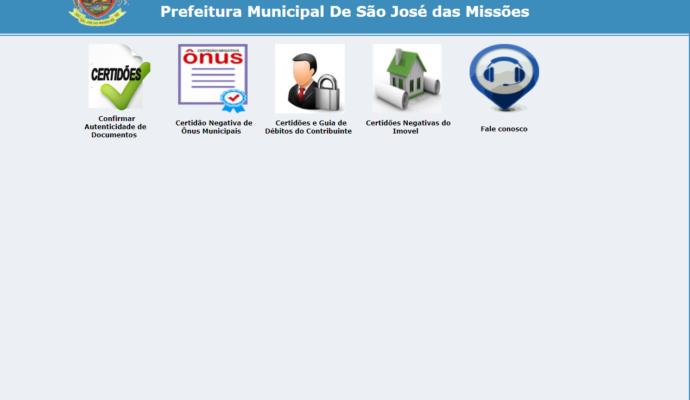 Novidade no Portal do Contribuinte.