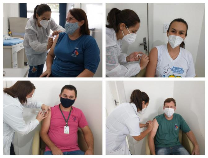 Iniciada a vacinação do Covid-19 no Município de São José das Missões/RS.