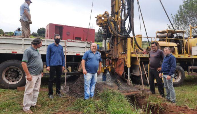 Finalizada a Perfuração de Poço Artesiano na Linha Evangélica em São José das Missões/RS.