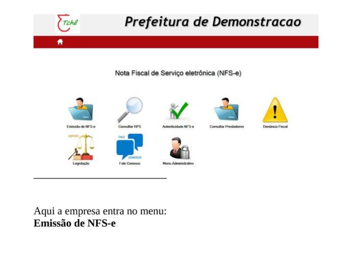 Sec. Mun. da Fazenda disponibiliza Manual de Acesso para Emissão de NFS-e (Nota Fiscal de Serviços Eletrônica).