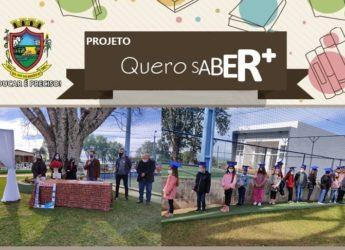 Projeto Quero Saber + , de São José das Missões, realizou formatura da sua primeira edição.