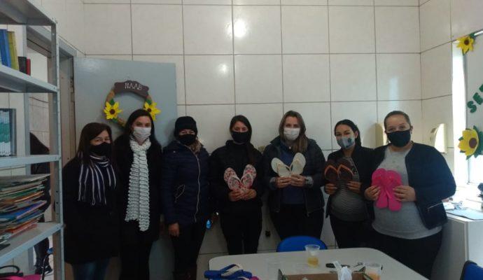 Equipe do NAAB (Núcleo de Apoio a Atenção Básica) retoma as atividades presenciais em grupos.