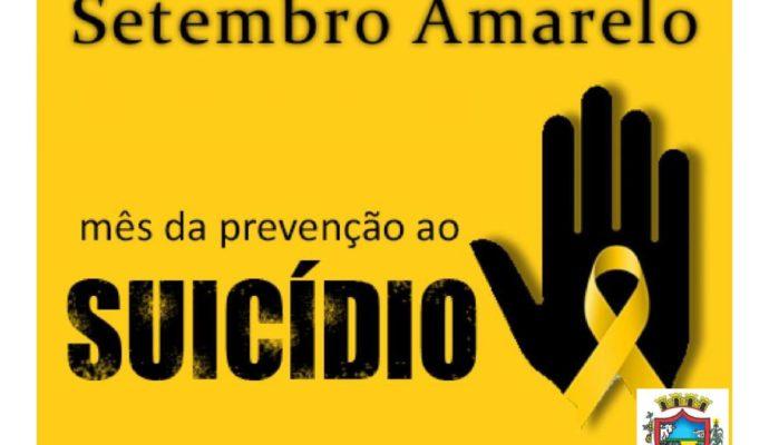 Setembro Amarelo: Mês da prevenção ao Suicídio.