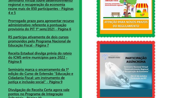 Informativo PIT nº 7 – Outubro 2021.